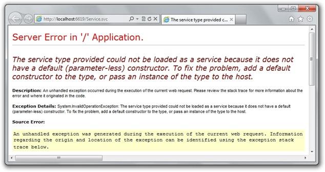 service-error