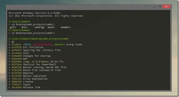 Cmder: Making the Command Line Your Best Friend | Tony