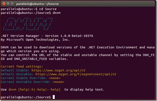 Develop and Deploy ASP NET 5 Apps on Linux | Tony Sneed's Blog