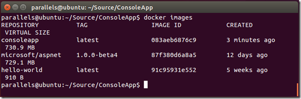 Deploy ASP NET 5 Apps to Docker on Linux | Tony Sneed's Blog