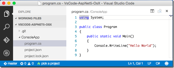 vscode-console