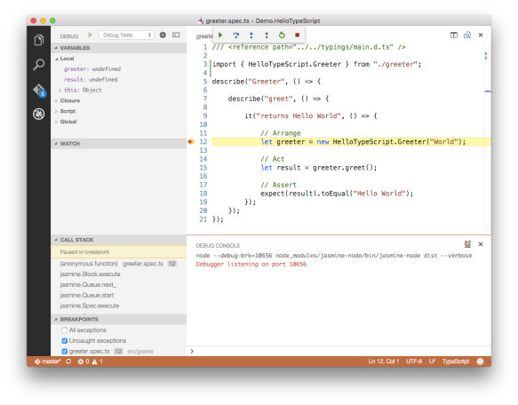 Getting Visual Studio Code Ready for TypeScript: Part 2 | Tony